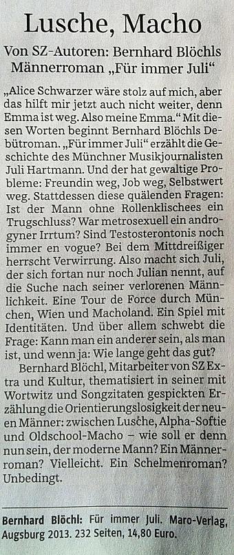 Süddeutsche Zeitung 060813