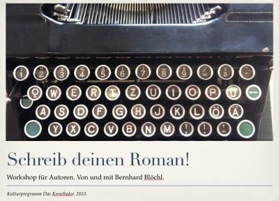 Schreib deinen Roman!