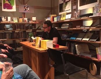 """Erste Lesung aus """"Im Regen"""" bei Literatur Moths am 9. März 2017"""